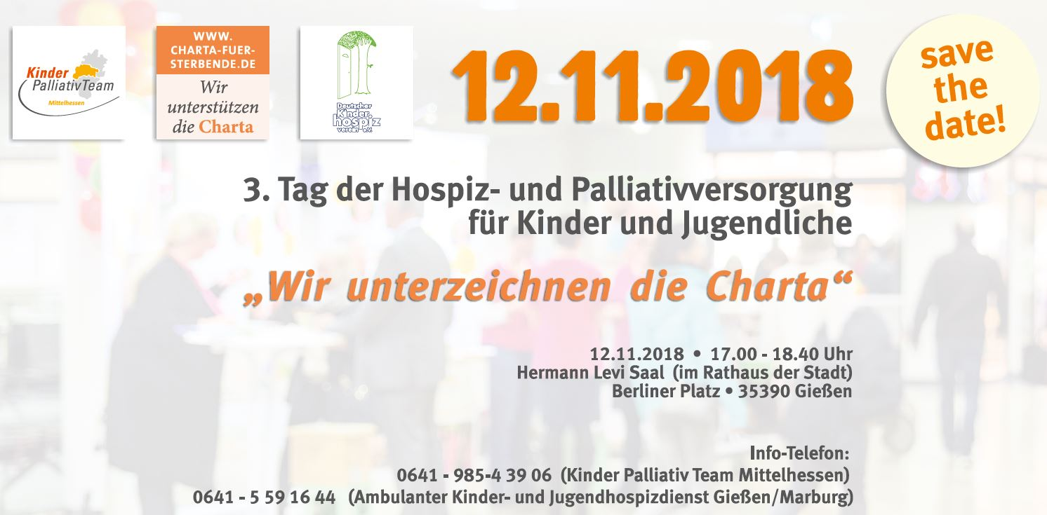 Save the Date PalliativTag 2018